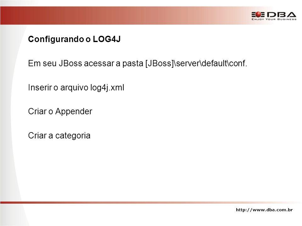 Em seu JBoss acessar a pasta [JBoss]\server\default\conf.